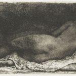 Negress lying down – Rembrandt