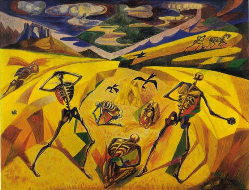 The Andalusian Reapers - Andre Masson
