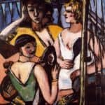 The Three Sisters – Max Beckmann