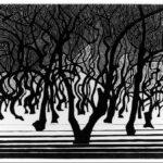 Wood near Menton – M.C. Escher