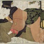 The Kiss – Kitagawa Utamaro