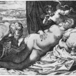 Jupiter and Antiope – Annibale Carracci