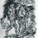 Man and Woman on the Road to Death  – Oskar Kokoschka