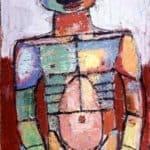 Nu bedecked – Jean Dubuffet