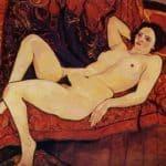 Nude on the sofa – Suzanne Valadon