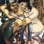 Odysseus and Calypso – Max Beckmann