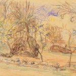 Orchard – Alfred Sisley