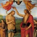 Pala di Sant Agostino (Baptism of Christ) – Pietro Perugino