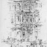 Palaces, Brussels – James McNeill Whistler