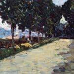 Park of St. Cloud –  Wassily Kandinsky