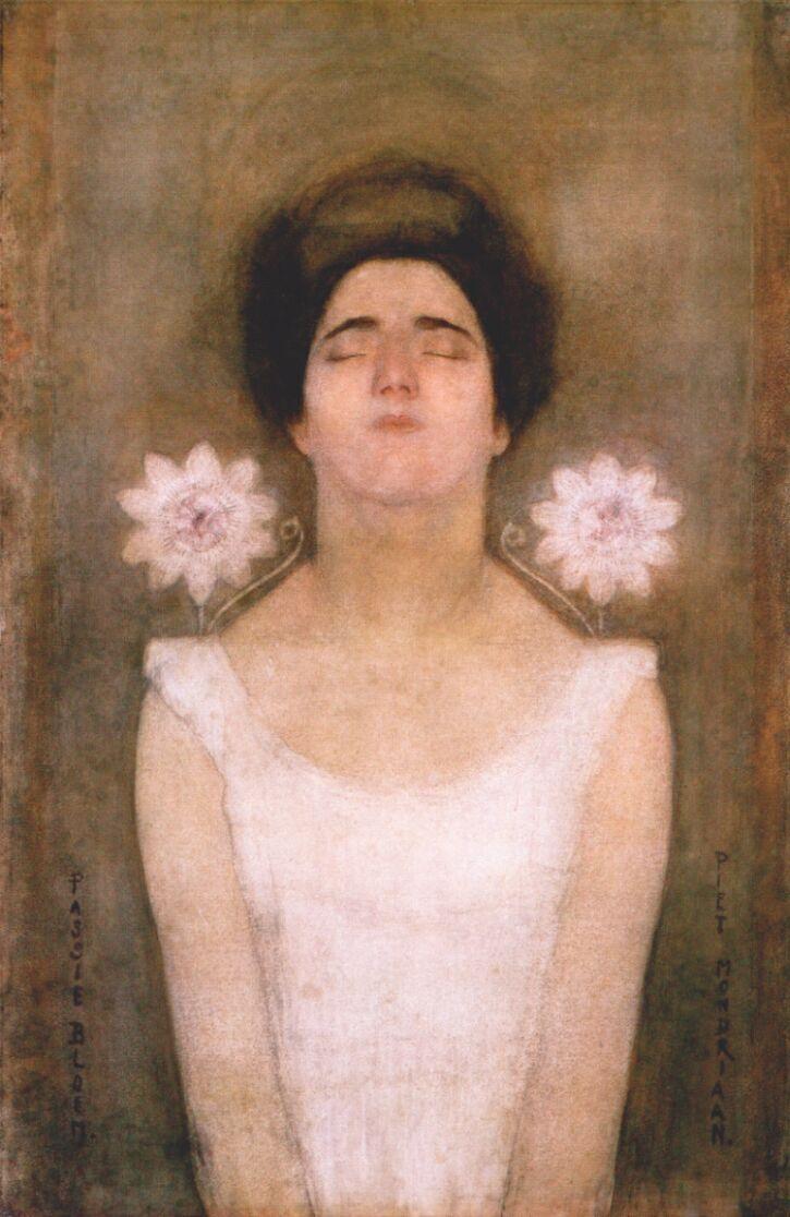 Passionflower – Piet Mondrian