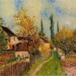 Path at Sablons – Alfred Sisley