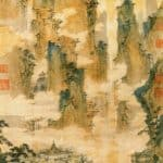 Pavilions in the Mountains of the Immortals – Qiu Ying