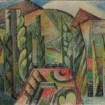 Paysage a Ceret  – Auguste Herbin