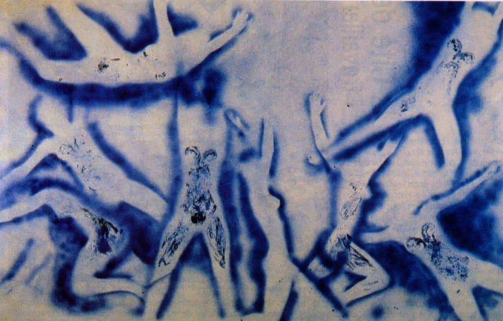 People Begin To Fly - Yves Klein