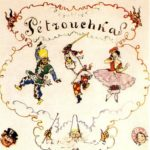 Petrushka. Poster scetch – Alexandre Benois