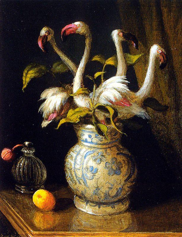 Pink Flamingos - Michael Sowa