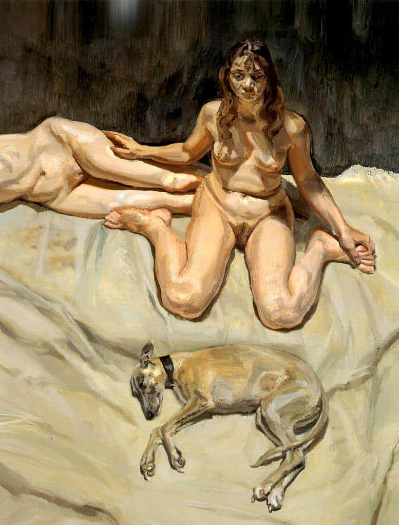 Pluto and the Bateman Sisters - Lucian Freud