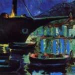 Port of Cadaques (Night) – Salvador Dali