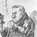Portrait-caricature of Giacomo Quarenghi – Orest Kiprensky