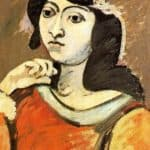 Portrait of Ahko – Arshile Gorky