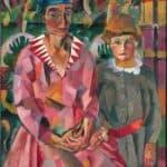 Portrait of Artist's Wife and Daughter – Aristarkh Lentulov