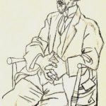 Portrait of Erik Satie – Pablo Picasso