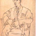 Portrait of Igor Stravinsky – Pablo Picasso