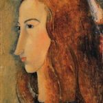 Portrait of Jeanne Hebuterne – Amedeo Modigliani
