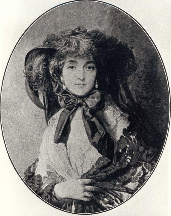 Portrait of Katarzyna Potocka Nee Branicka, Wife of Adam Potocki - Franz Xaver Winterhalter