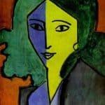 Portrait of L.N. Delekorskaya  – Henri Matisse