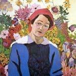 Portrait of M.P. Lentulova – Aristarkh Lentulov