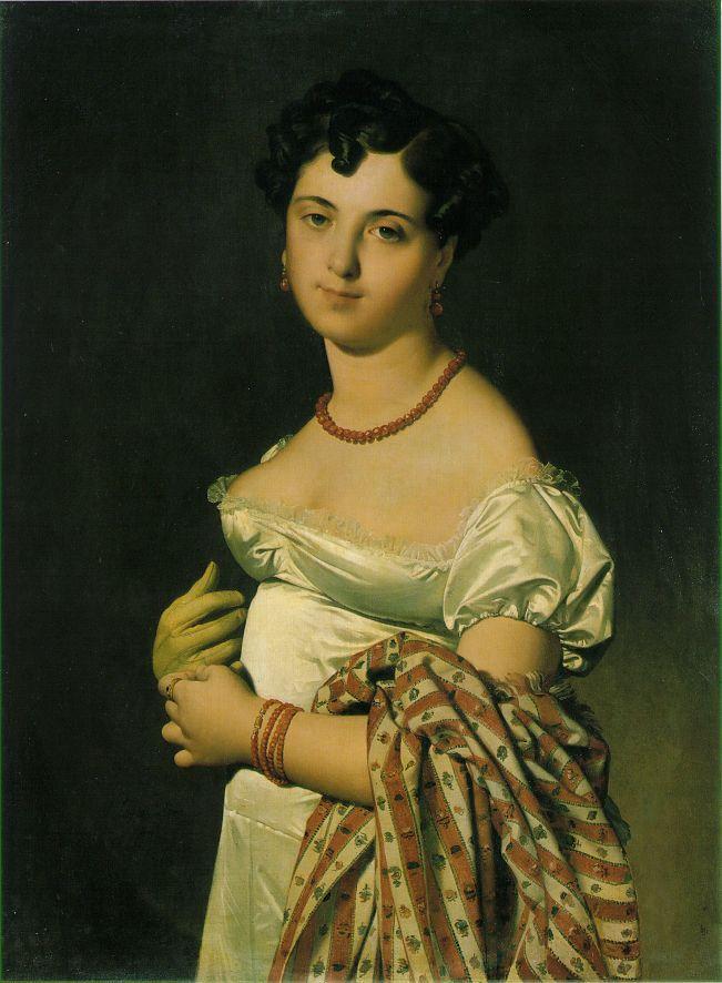 Portrait of Madame Panckoucke - Jean Auguste Dominique Ingres