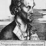 Portrait of Philipp Melanchthon – Albrecht Durer