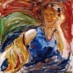 Portrait of Phyllis Sjostrom – Akseli Gallen-Kallela