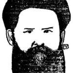 Portrait of Russian writer Vladimir Galaktionovich Korolenko  – Felix Vallotton