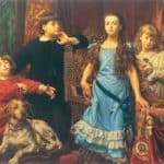 Portrait of The Artist`s Four Children – Jan Matejko