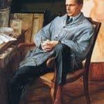 Portrait of Vasily Shuhaev in his Studio – Alexandre Jacovleff