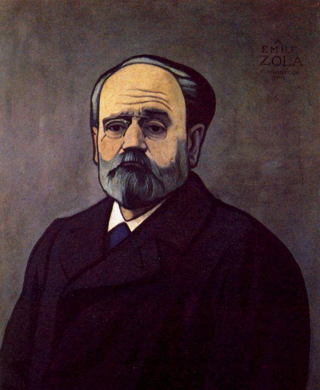 Portrait Of Zola - Felix Vallotton