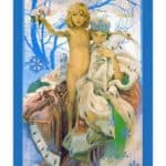 Poster presentation of Andersen's Snow Queen – Alphonse Mucha