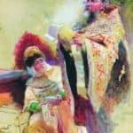 Priest and Boyarynia – Konstantin Makovsky