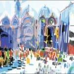 Procissao em Veneza – Nadir Afonso