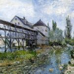 Provencher s Mill at Moret – Alfred Sisley