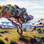 Rafales de vent, Le Brusc – Armand Guillaumin