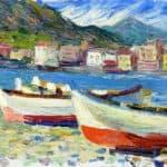 Rapallo boats –  Wassily Kandinsky