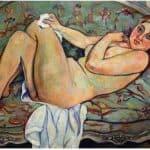 Reclining nude – Suzanne Valadon