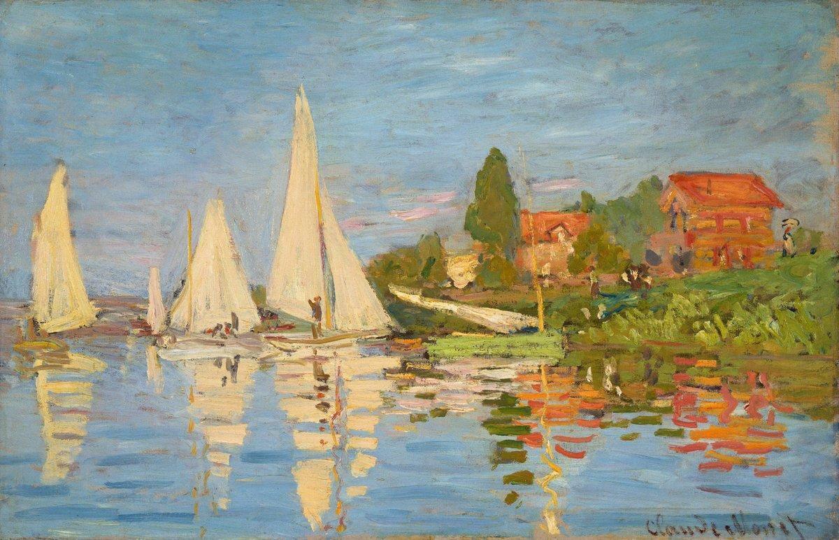 Regatta At Argenteuil - Claude Monet