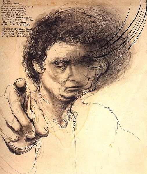Remembering Lao Tse (Shaving off a Second) - Brett Whiteley