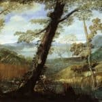 River Landscape – Annibale Carracci