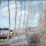 River Loing – Alfred Sisley
